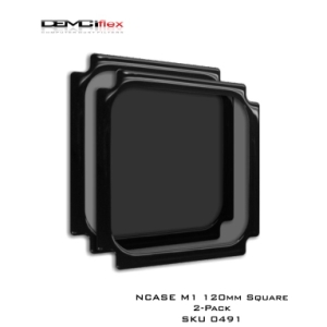 Picture of NCASE M1 120mm Square 2-Pack Dust Filters