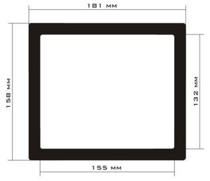 Picture of C435 - 181mm x 158mm