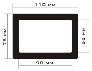 Picture of C454 - 110mm x 75mm