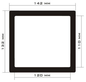 Picture of C465 - 142mm x 132mm