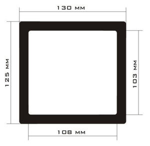 Picture of C478 - 130mm x 125mm
