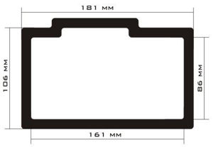 Picture of C311 - 181mm x 116mm