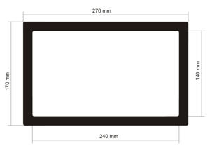 Picture of C501 - 270mm x 170mm