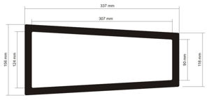 Picture of C571 -415mm x 205mm