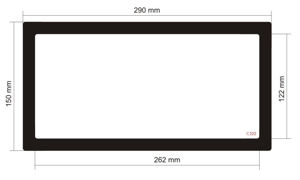 Picture of C522- 290mm x 150mm