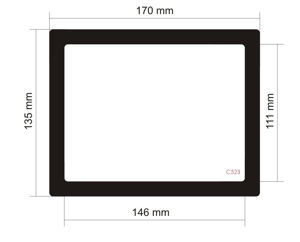 Picture of C523 -170mm x 135mm
