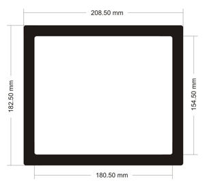 Picture of C530 - 208.5mm x 182.5mm