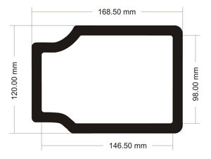 Picture of C531 - 168.5mm x 120mm