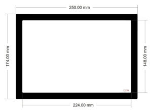 Picture of C534 - 250mm x 174mm