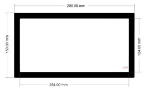 Picture of C535 -280mm x 150mm