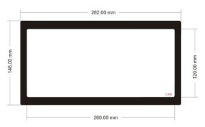 Picture of C542 - 282mm x 148mm