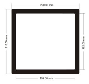 Picture of C553 - 220mm x 210mm