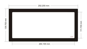 Picture of C573 - 292.2mm x 139.7mm