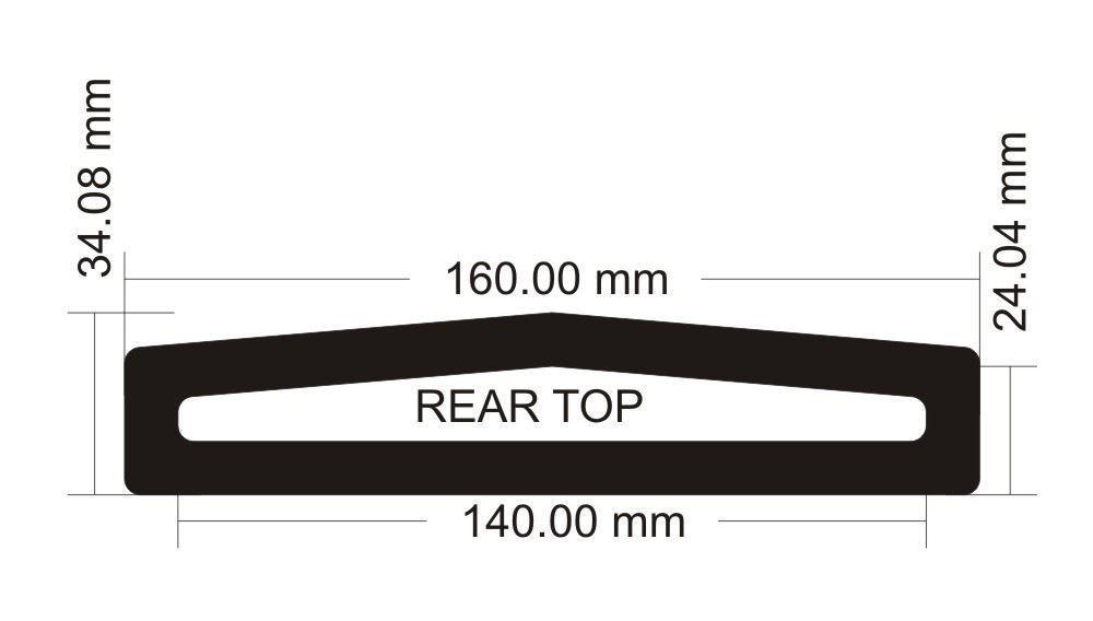 Picture of Corsair Graphite 780T RearTop Filter
