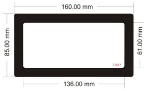 Picture of C587 - 160mm x 85mm