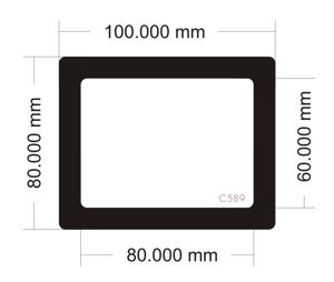 Picture of C589 - 100mm x 80mm