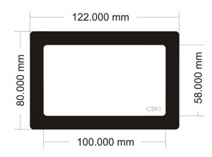 Picture of C590 - 122mm x 80mm