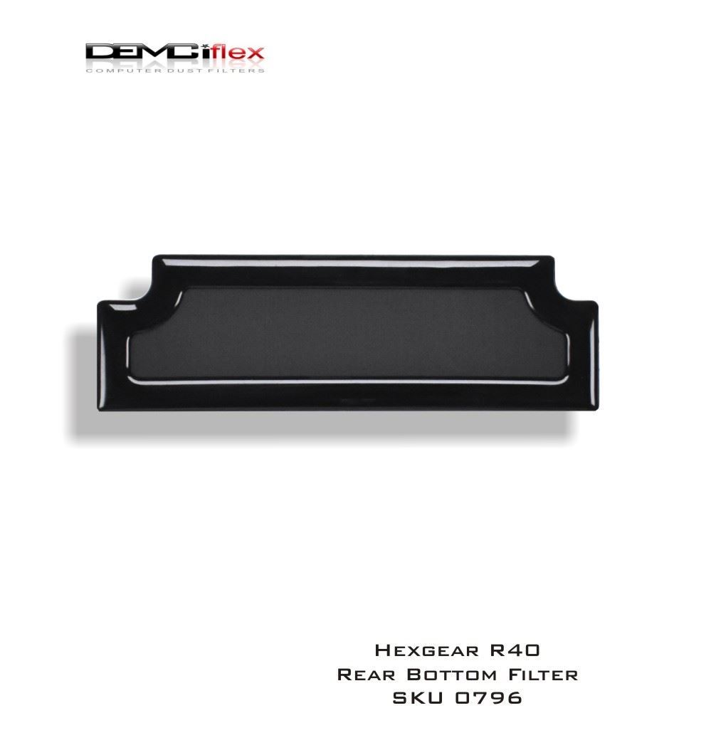 Picture of HEXGEAR R40 Bottom Rear Filter