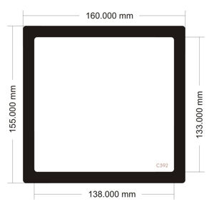 Picture of C592 - 160mm x 155mm