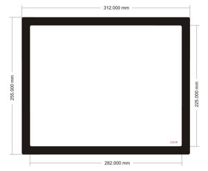 Picture of C608 - 312mm x 255mm