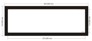 Picture of C613 - 403mm x 143mm