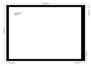 Picture of C619 - Location C Vent 2