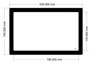 Picture of C621 - 220mm x 140mm