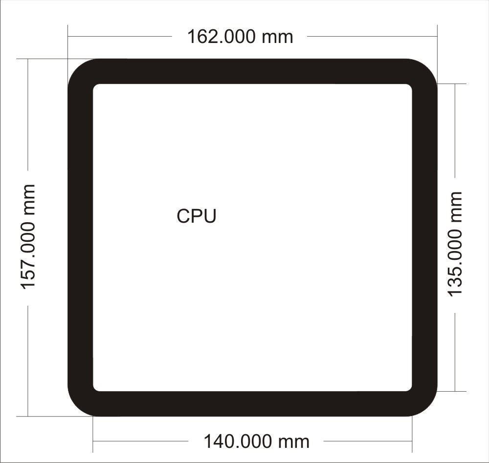 Picture of 0814 - Fractal Design Node 202 CPU Filter