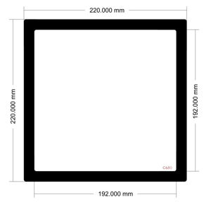 Picture of C650 - 220mm x 220mm