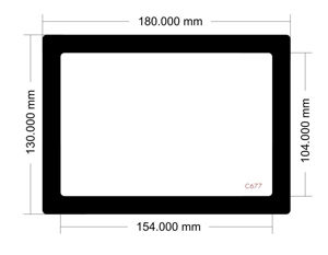 Picture of C677 - 180mm x 130mm