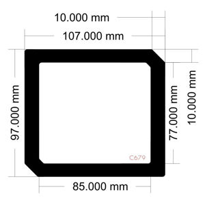 Picture of C679 - 107mm x 97mm