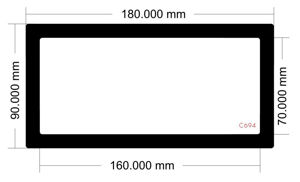 Picture of C694 - 180mm x 90mm