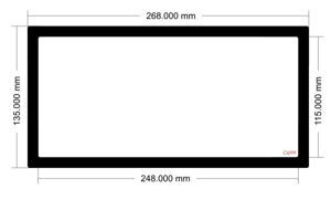 Picture of C699 - 268mm x 135mm