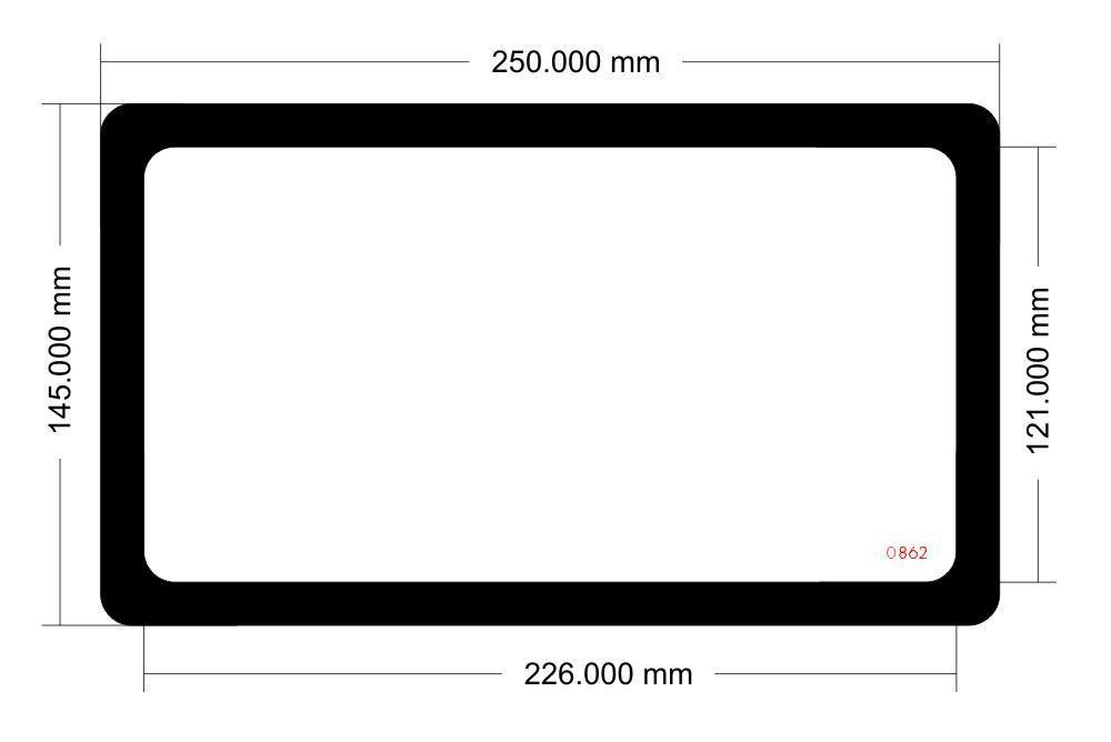 Picture of 0862 - Fractal Design Arc Mini R2 Front Filter