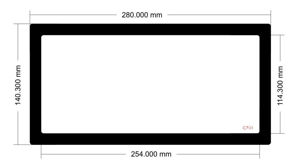Picture of C701 - 280mm x 140.3mm