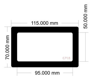 Picture of C705 - 115mm x 70mm