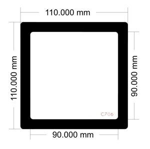 Picture of C706 - 110mm x 110mm