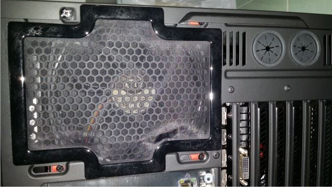 Picture of NZXT Noctis 450 Rear Dust Filter