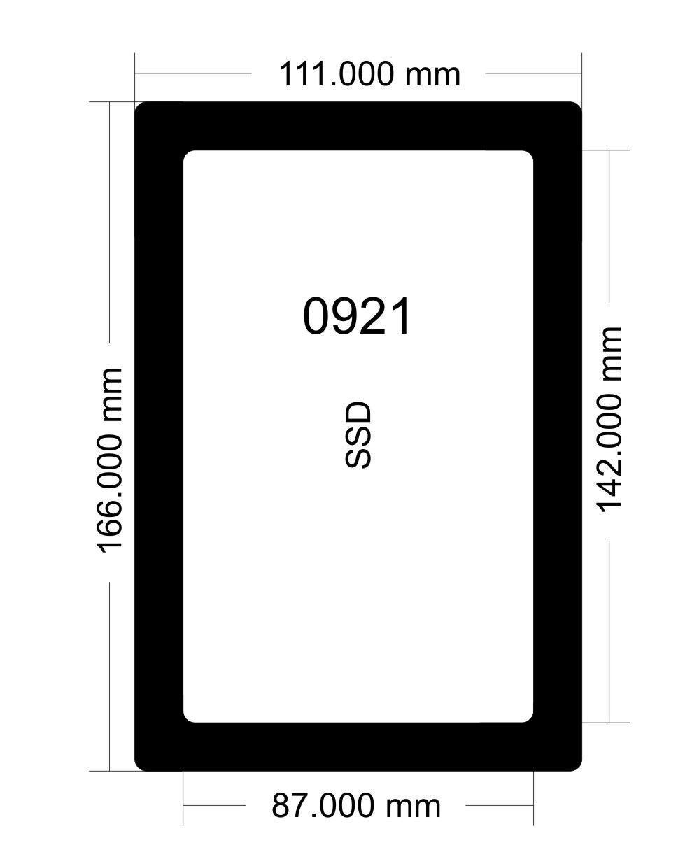 Picture of 0921 - Antec Lan Boy SSD Filter