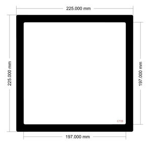Picture of C723- 225mm x 225mm