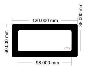 Picture of C729 - 120mm x 60mm