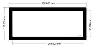 Picture of C773 - 280mm x 120mm