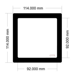 Picture of C775 - 114mm x 114mm