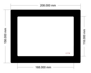 Picture of C778 - 208mm x 158mm