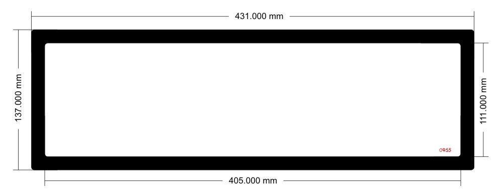 Picture of EK Coolstream SE420 Radiator Filter