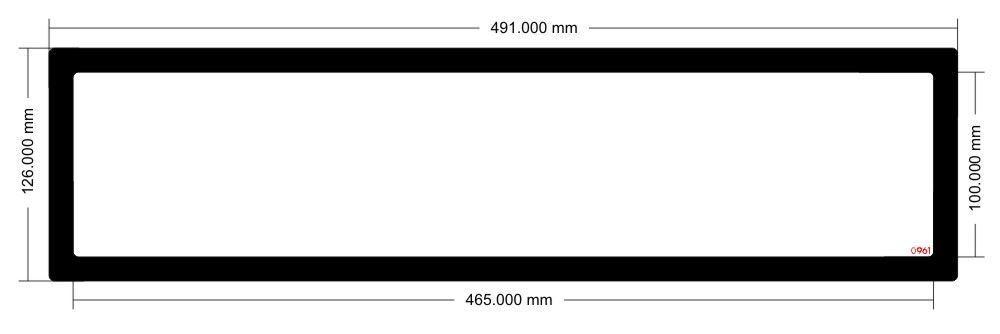 Picture of EK Coolstream XE480 Radiator Filter