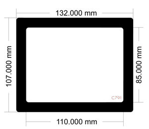 Picture of C791 - 132mm x 107mm