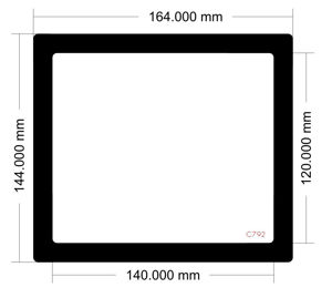 Picture of C792 - 164mm x 144mm