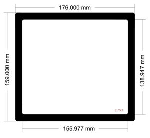 Picture of C793 - 176mm x 159mm
