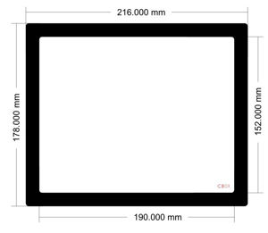 Picture of C801 - 216mm x 178mm
